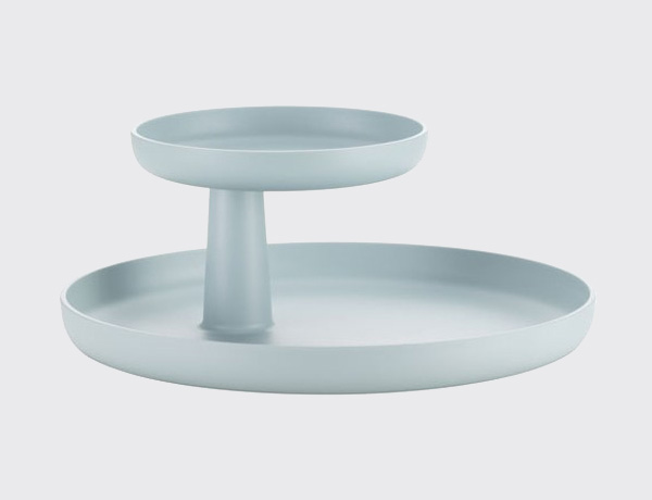Safata Rorary tray blanca