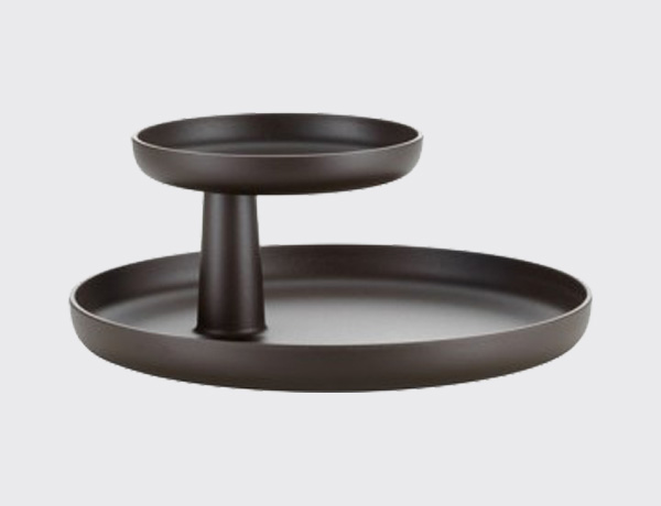 Safata Rorary tray marron teca