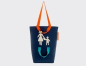 Motherchildbag blau marí